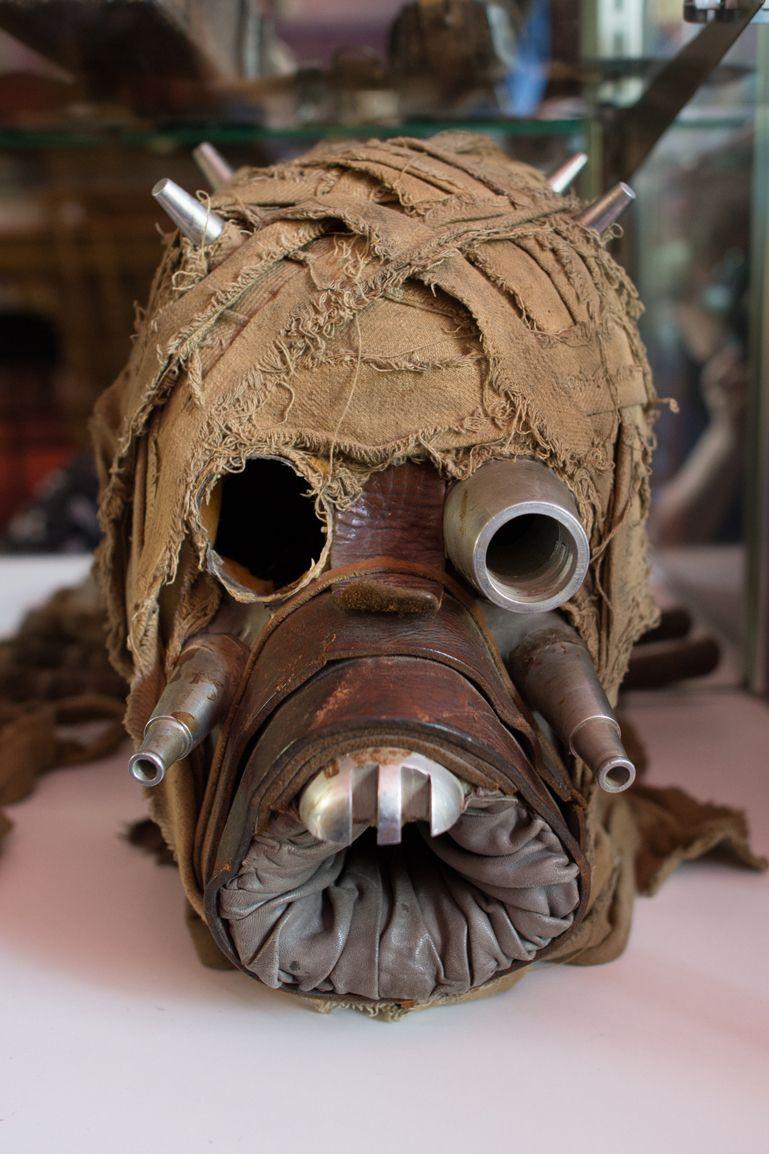 Tusken Raider Mask Star Wars Collectors Archive Star Wars