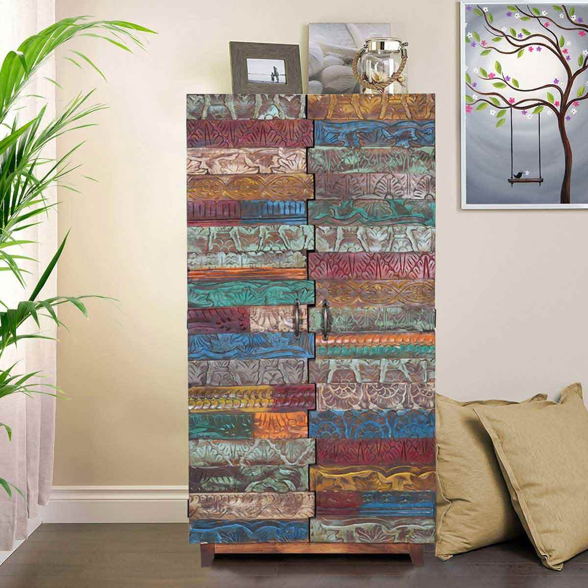 Sierra Living Concepts At Home Furniture Store Reclaimed Wood Furniture Wooden Wardrobe