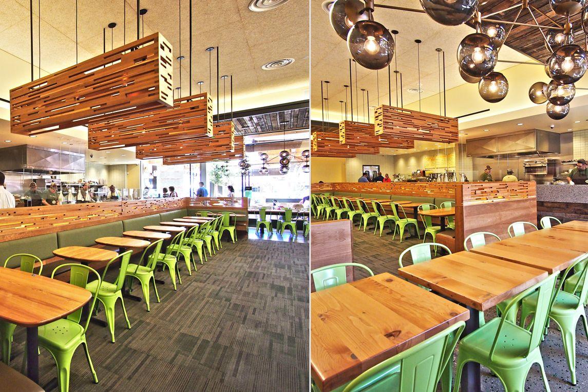 tender greens restaurant  by valerio architects