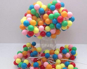 Cake made out of balloons... Insert into other forms to build your own cake