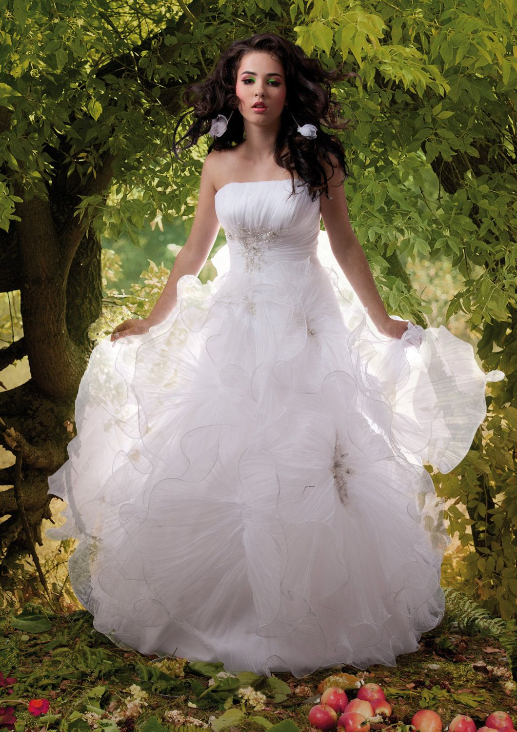 Fairytale Tinkerbell. The real dream wedding dress from Royal ...