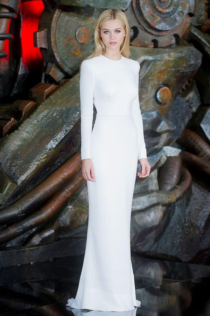 ff37c94897f Nicola Peltz - Stella McCartney dress white-crop