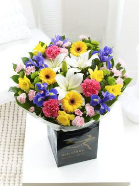 Interflora florist choice hand tied ht2 whatever the occasion why explore hand tied bouquet spring flowers and more mightylinksfo