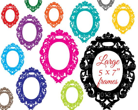 Digital Frame Download Fancy Png Clipart By Sunshinedesigns88 3 48 Digital Frame Frame Download Clip Art