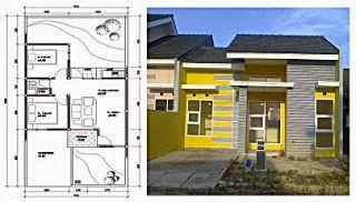 50+ contoh gambar denah rumah minimalis   simple house