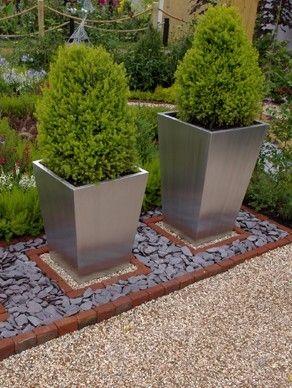 Slate ideas | Slate garden, Garden floor