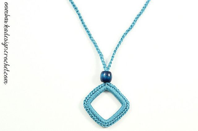 Ravelry: Simply Easy Necklace pattern by Oombawka Design, free