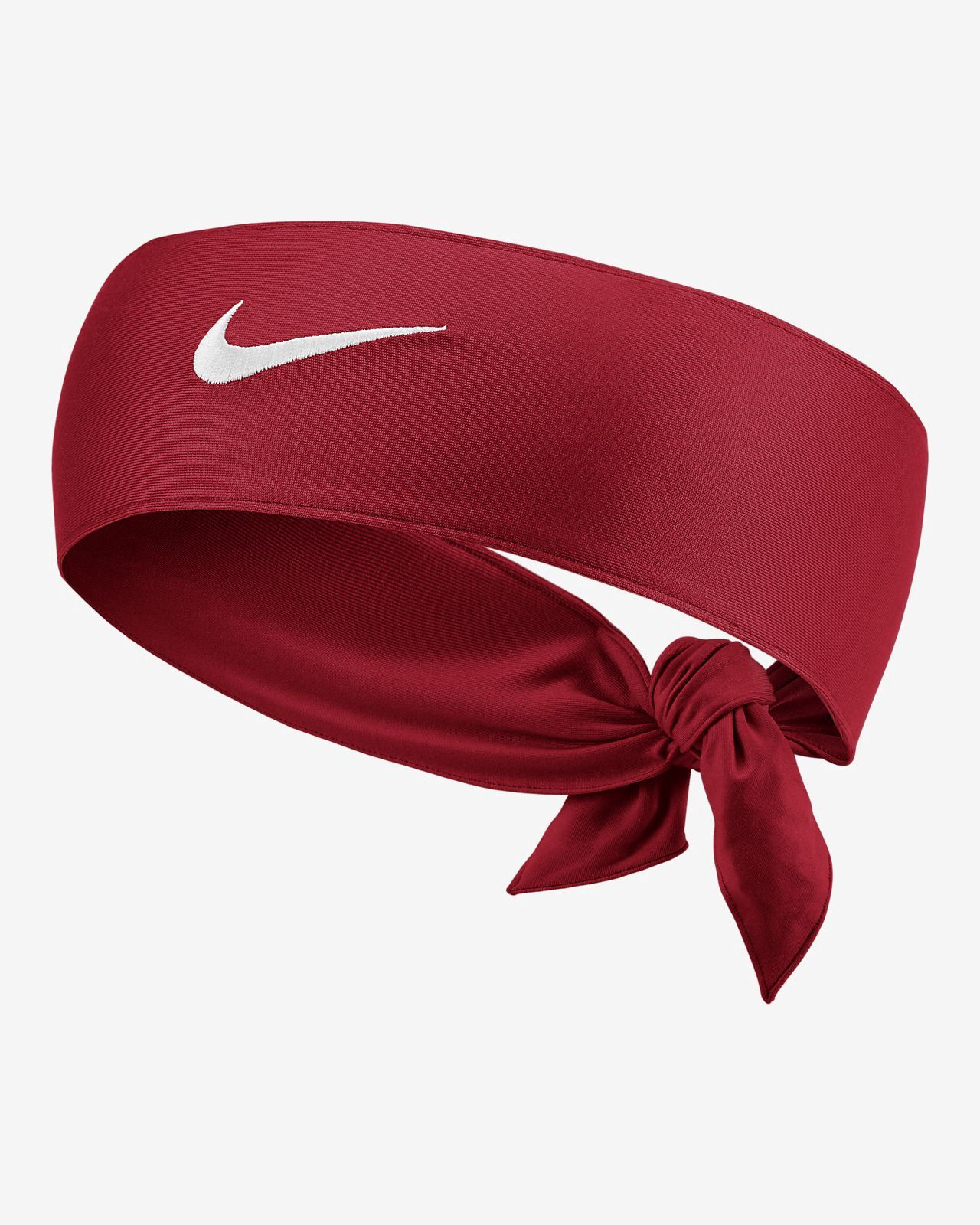 841f46916bda Nike Court Dri-Fit 2.0 Tennis Head Tie - Gym Red White Os