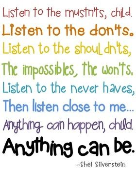 Image result for listen to the mustn'ts poster