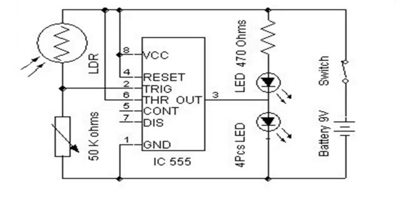 Street Light That Glows On Detecting Vehicle Movement Electronics Ldr Working Circuit Project Model Which Is Built With Atmegamicrocontroller Ds1307 Ic Lcd Pirsensor Array Of Led