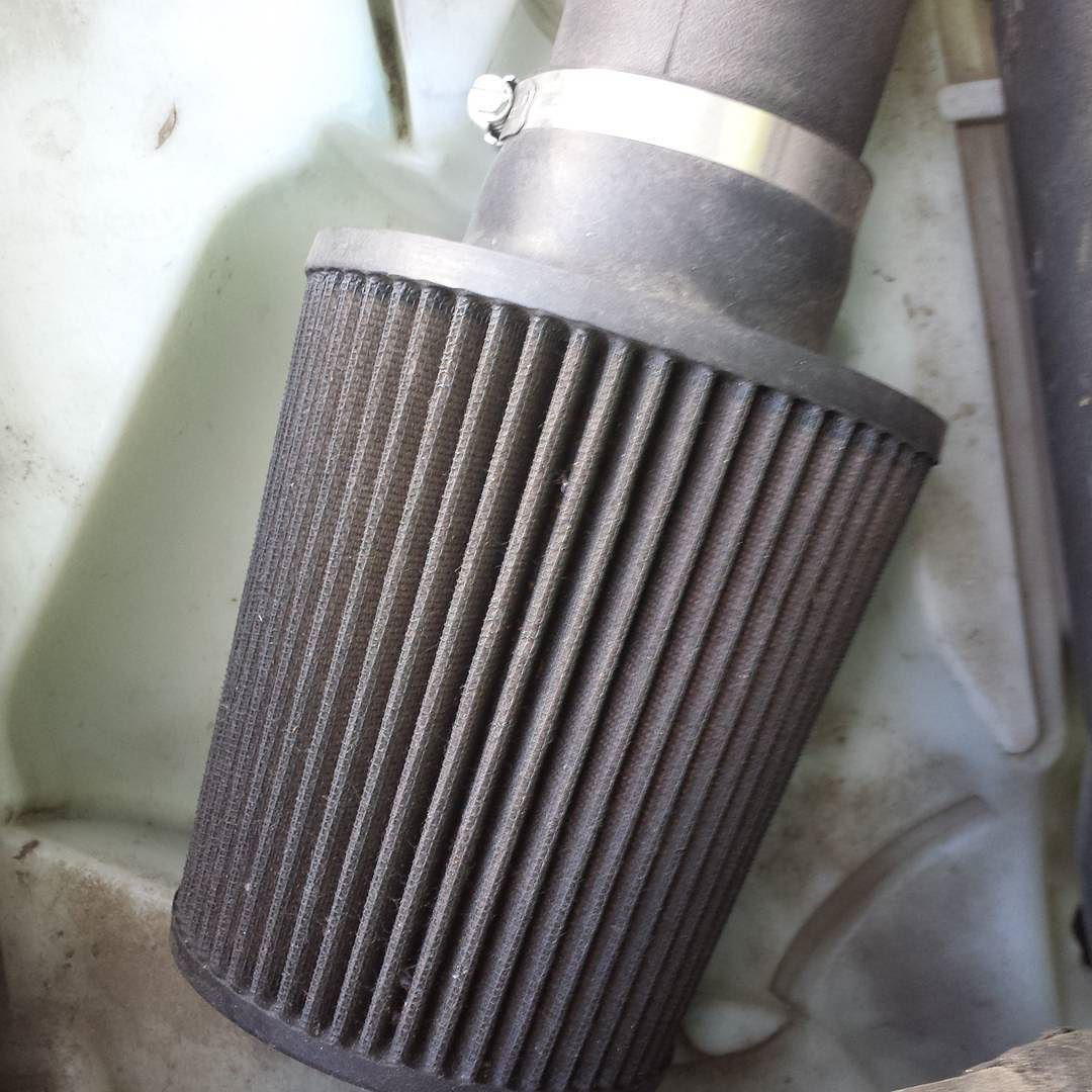 Time to clean this K&N airfilter. Instagram, Air