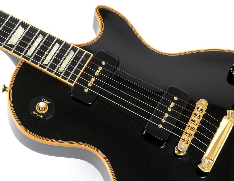 Gibson Les Paul Custom Classic P 90s Guitar Of The Week Gotw 28 2007 Ebony Nationwide Guitars Reverb Les Paul Custom Gibson Les Paul Les Paul