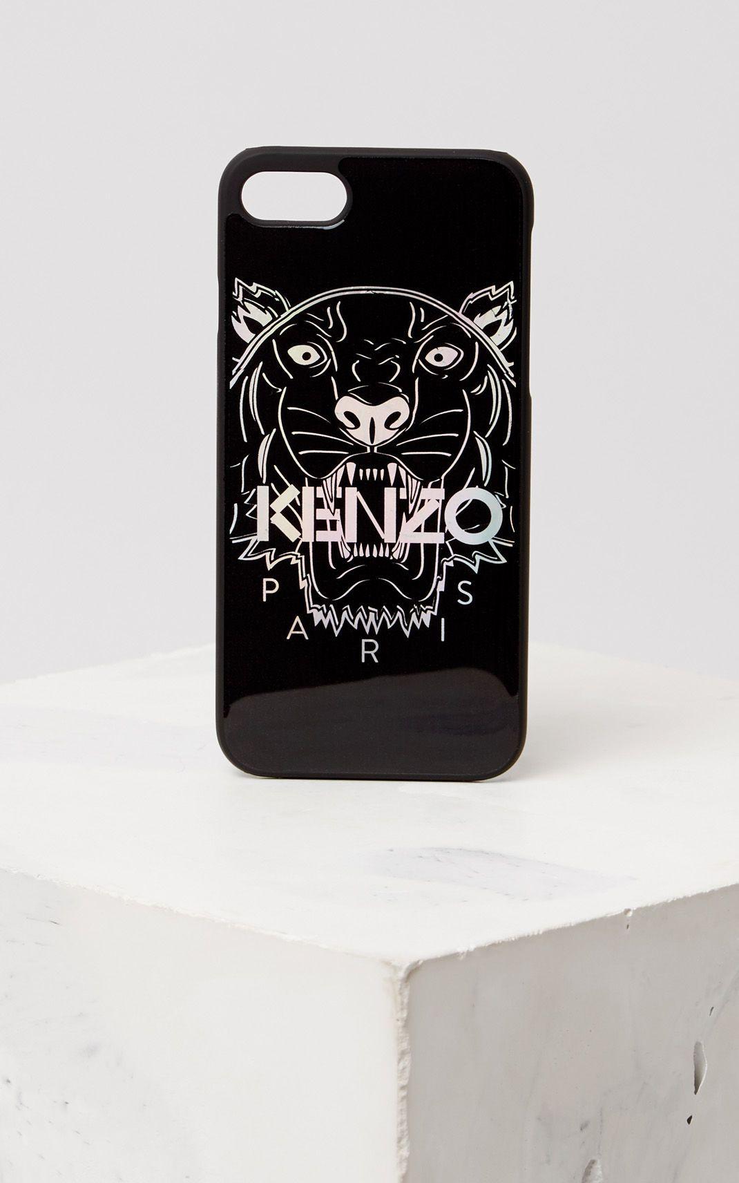 coque iphone xr kenzo bleu