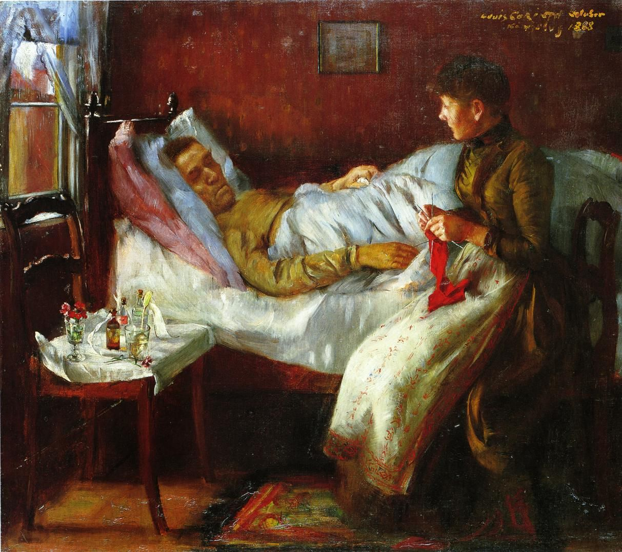 10 Sick Bed Paintings ideas | painting, painter, art