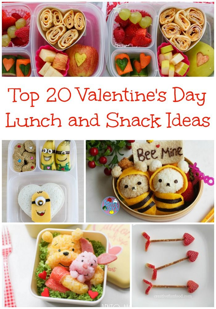 top 20 valentine's day lunch and snack ideas | my lunchbox dad, Ideas