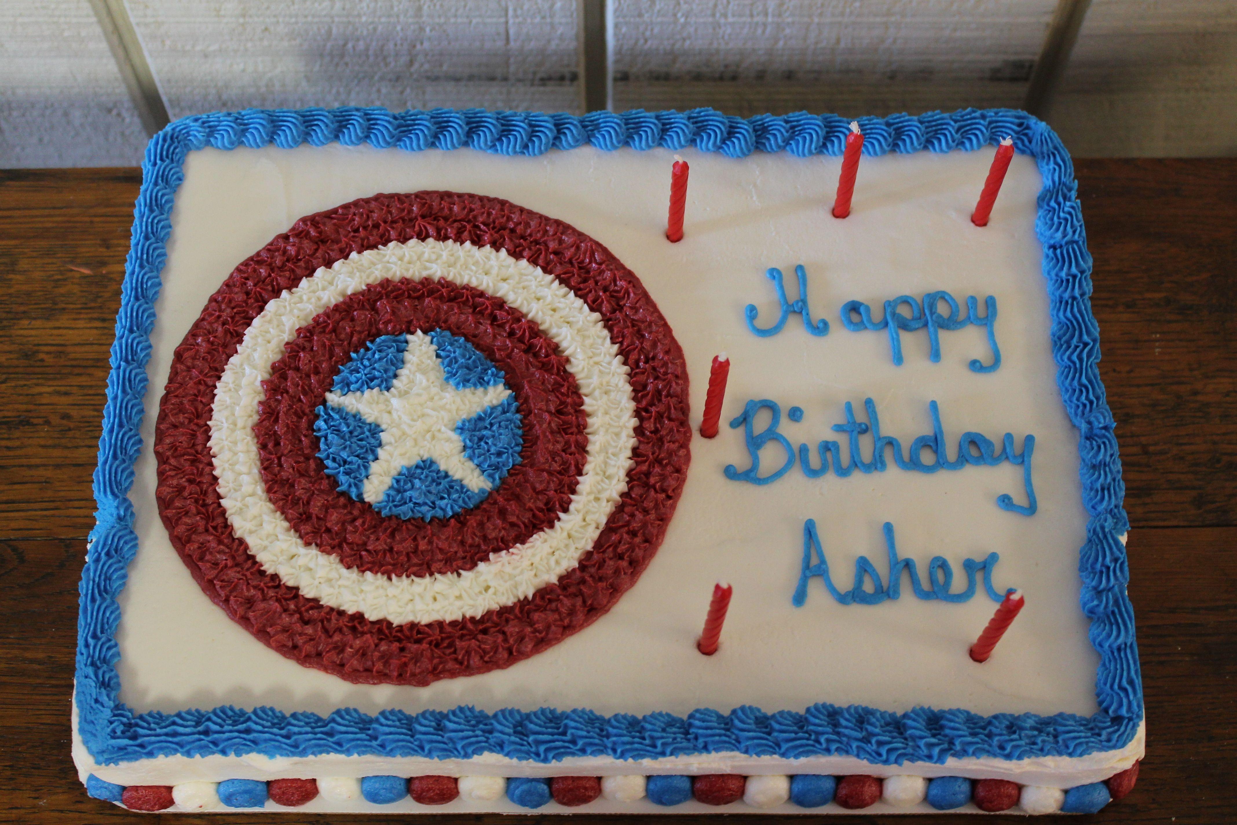 Captian America Sheild Cake Avenger Party Ideas Pinterest Cake