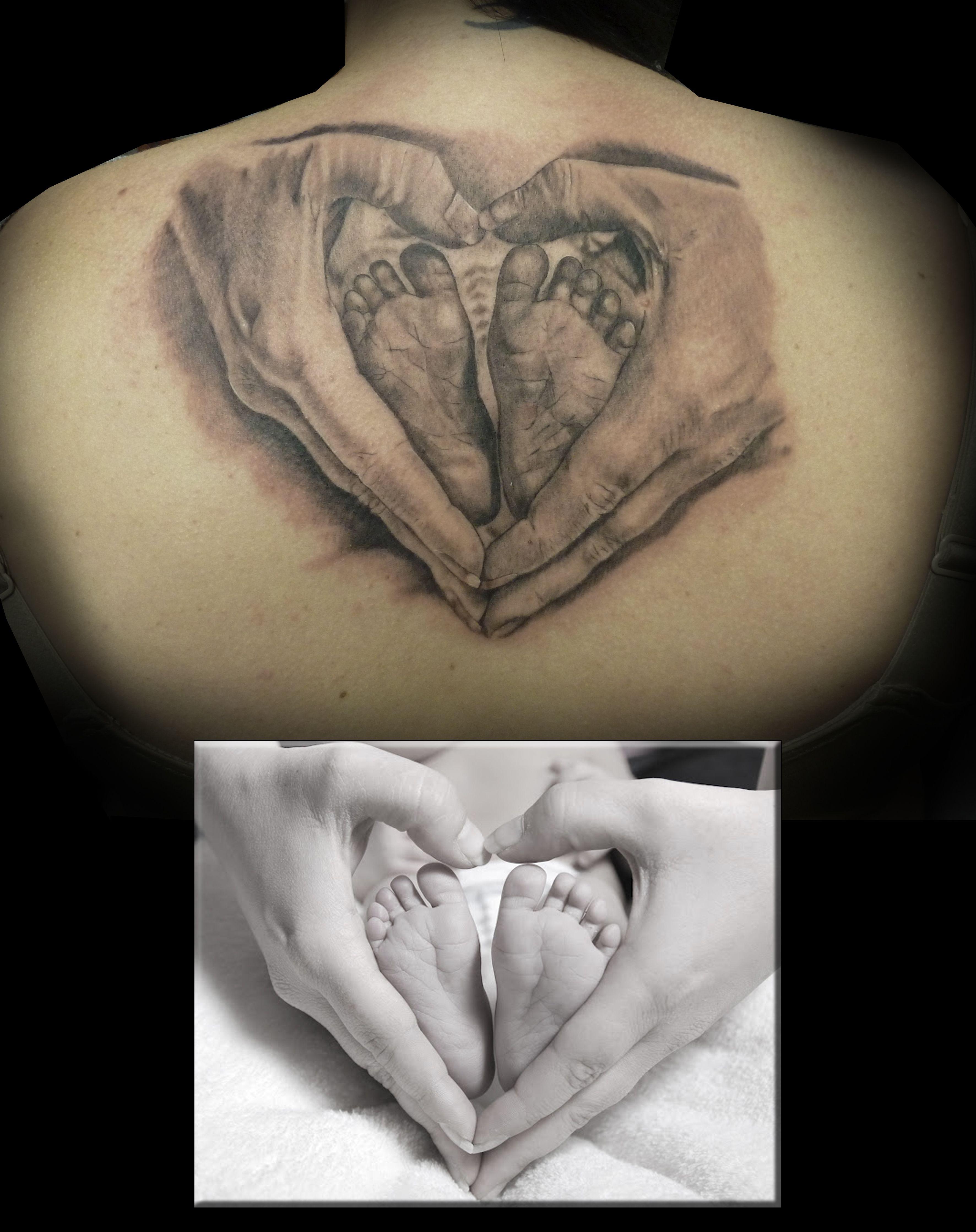 tat muy especial para mí, de una foto de mi gran amiga y gran artista Laura mato #damageink #damageinkorporated #raultat2s #realistictattoo