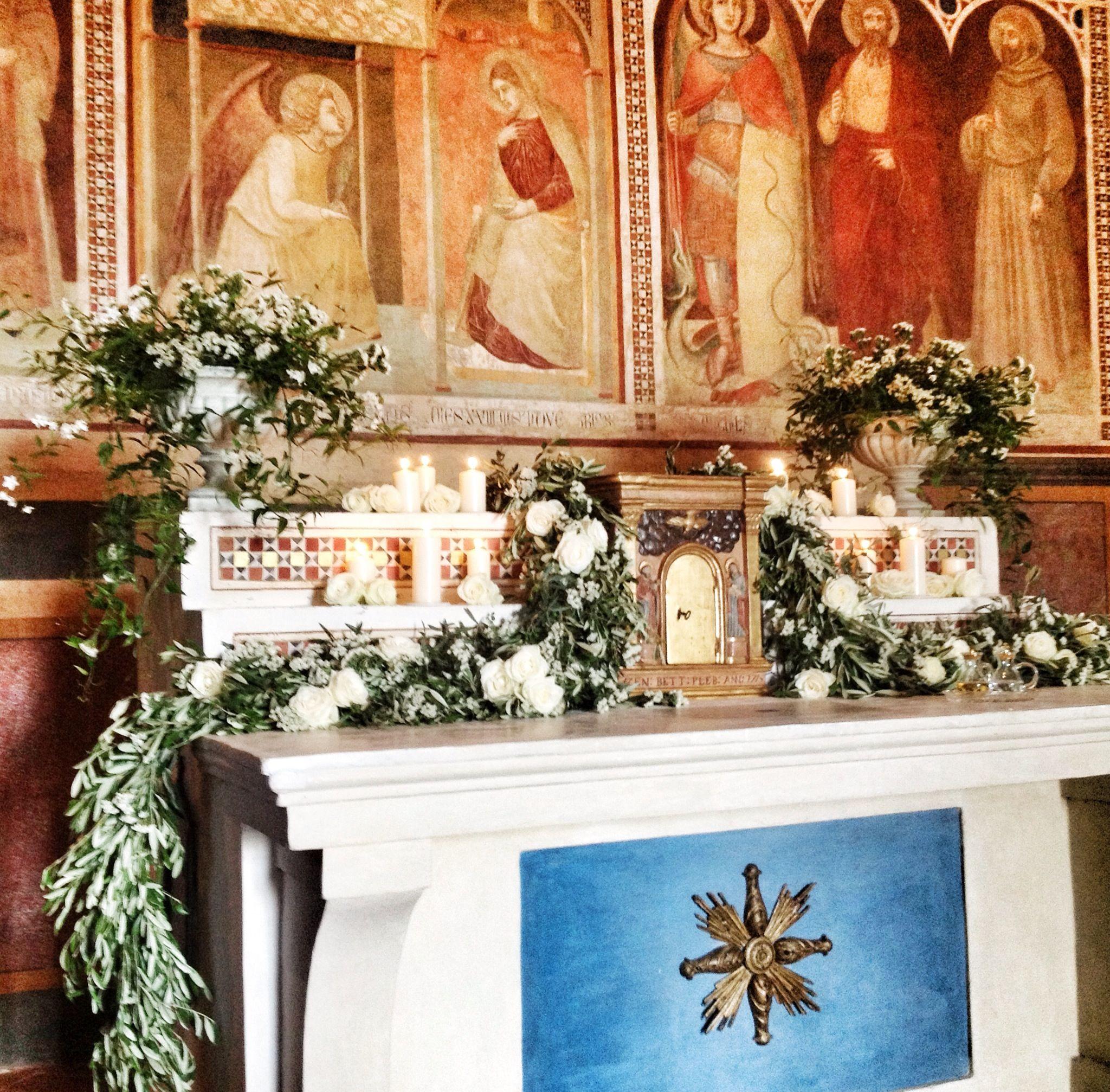 Wedding Altar Design Resource: Ceremony Church Decor