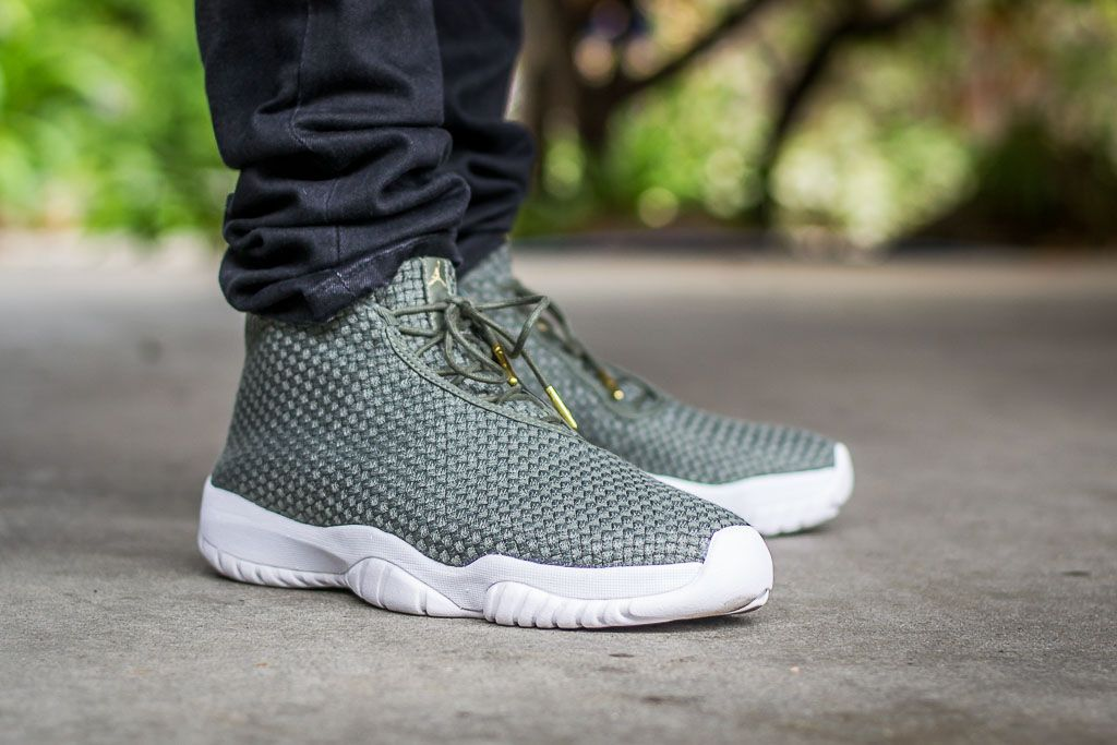 2f45079c9e0165 WDIWT - See my on foot video review of these Air Jordan Future Iron Green +  where to find em