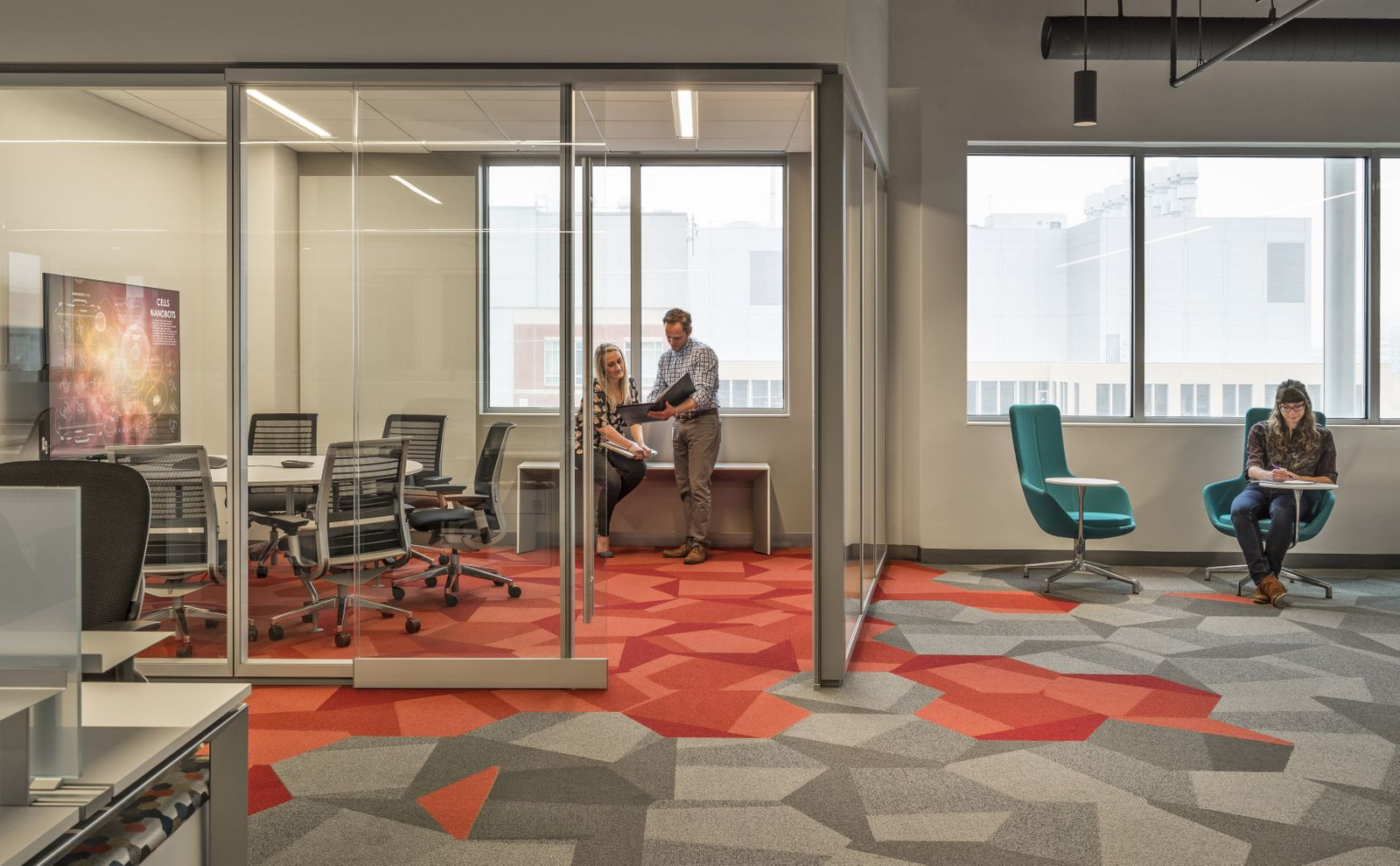 Takeda Pharmaceuticals Offices Ii Cambridge Office Snapshots Fusion Design Design Consultant Floor Design