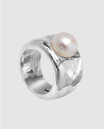 00badfa43 Anillo de mujer Duna Tous Anillos Con Perlas, Anillos De Piedra, Anillos  Plata Mujer