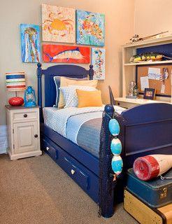 Modern Ocean Themed Boy S Room Modern Kids Decor Other Metro