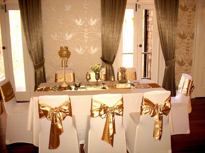 Vintage gold sash wedding decorations partridge house adelaide vintage gold sash wedding decorations partridge house adelaide wedding suppliers junglespirit Images