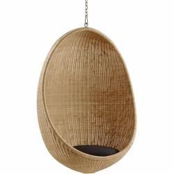 Photo of Sika Design Egg Hammock Chair Natural Dark Gray Sika design