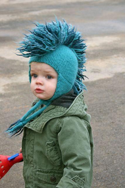 23962dd95 Ravelry: YummyKnits' Super Cool Mohawk Hat   Knitting/Crochet ...