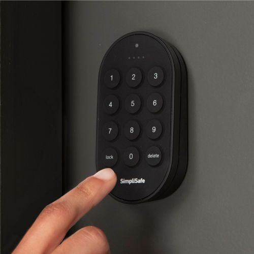 Simplisafe Smart Lock Pin Pad Black Ss3 Lk Bb Best Buy In 2020 Simplisafe Smart Lock Cool Things To Buy