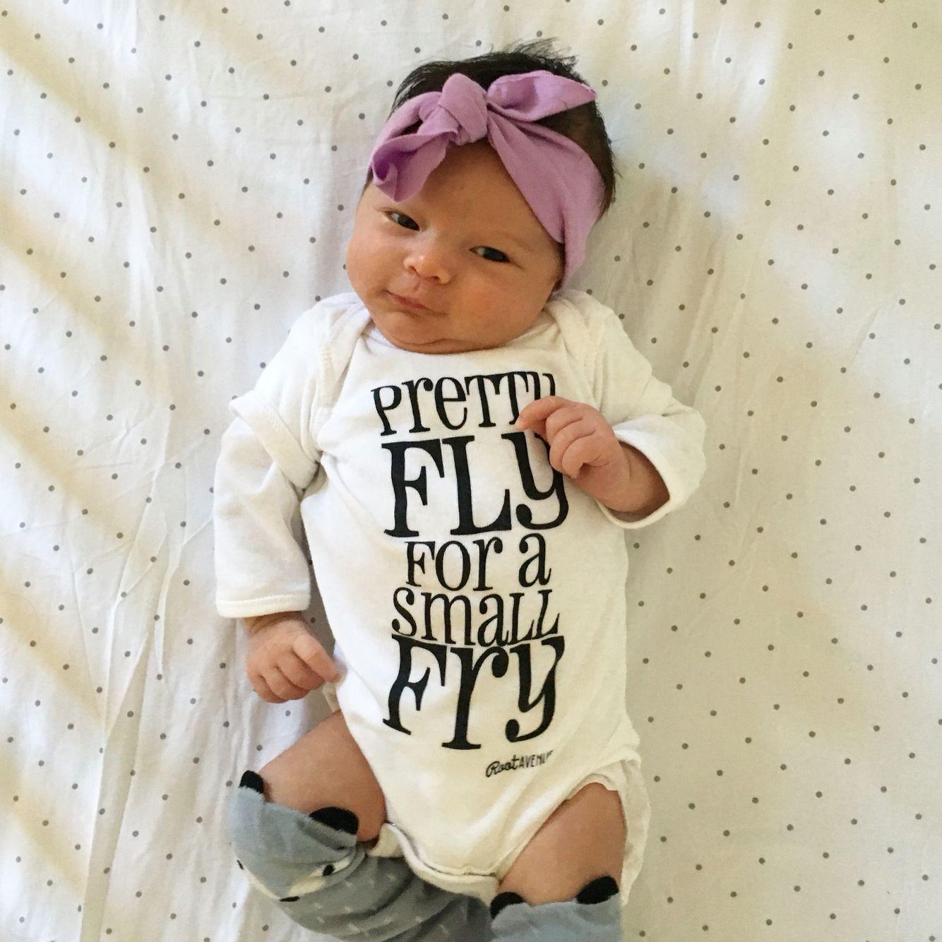 Small Fry Jumper Cute Unique Gender Neutral Baby Clothes Gender Neutral Baby Clothes Baby Girl Clothes Cute Baby Clothes