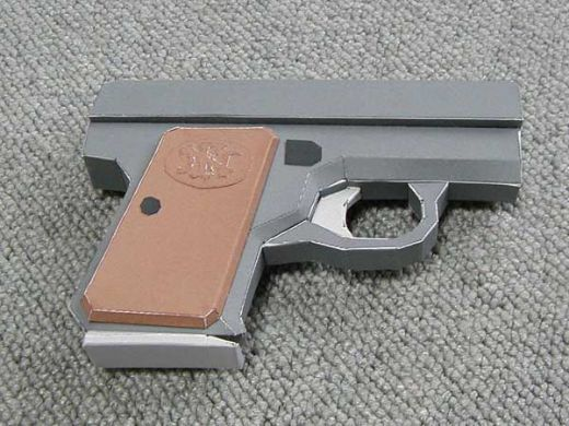 How To Make A Paper Pistol Easy To Make And Affordable