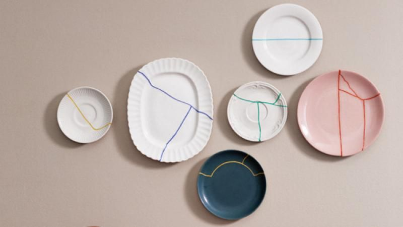 How To Repurpose Cracked Plates With Diy Crafts Using Household Items