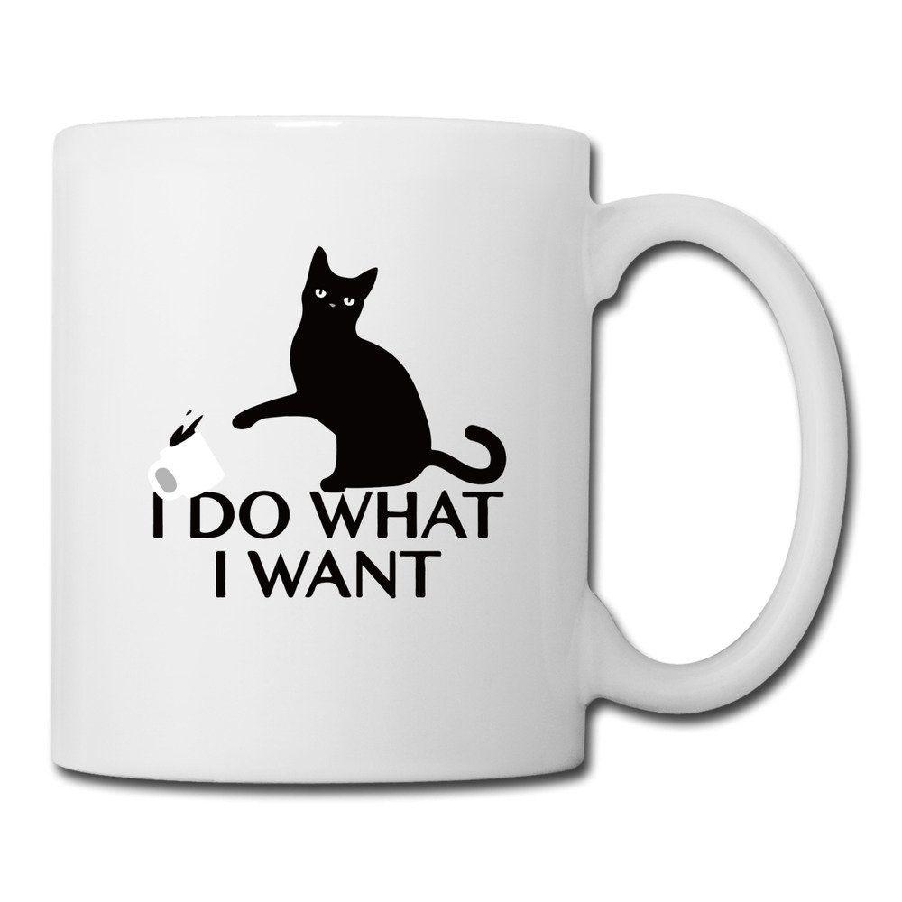 Funny Design I Do What I Want White Ceramic Mugs White Special