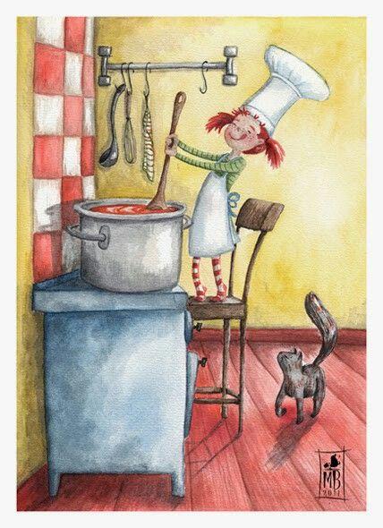 ¿Te gusta cocinar? ,¿cuál es tu plato preferido? Maria Bogade