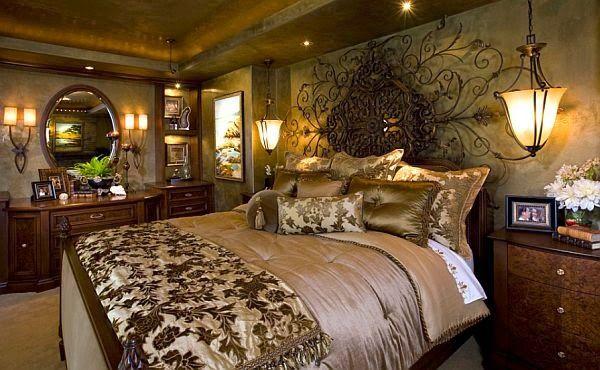 Elegantes Dormitorios Matrimoniales Ropa De Cama De Lujo Cama De Lujo Dormitorios Glamorosos
