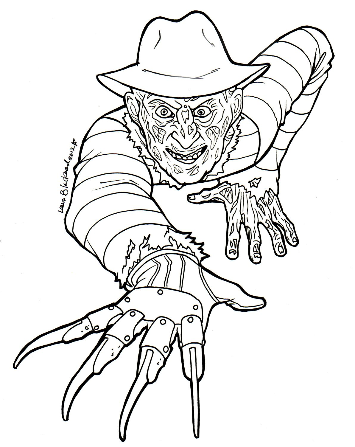 freddy krueger coloring pages colouring freddy krueger   Google zoeken | Drawings | Coloring  freddy krueger coloring pages
