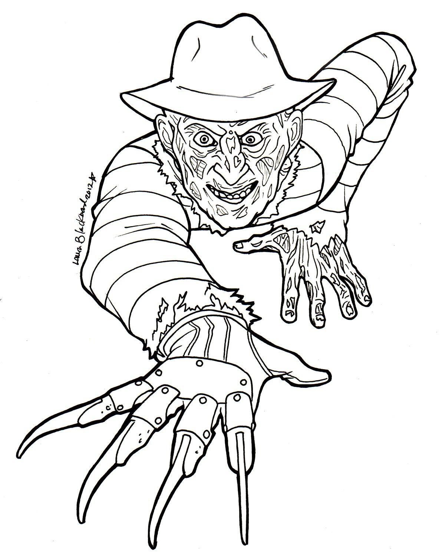 Uncategorized Freddy Krueger Coloring Pages colouring freddy krueger google zoeken coloring comics zoeken