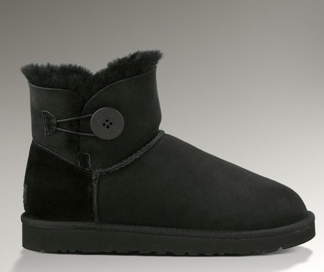 UGG BAILEY - Winter boots - black