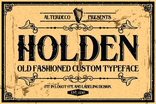20 Old School Fonts For Creating Vintage Sign Art Victorian Typography And Fonts