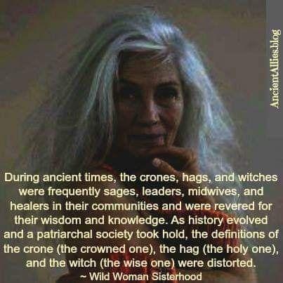 crone. hag. witch. #historyfacts