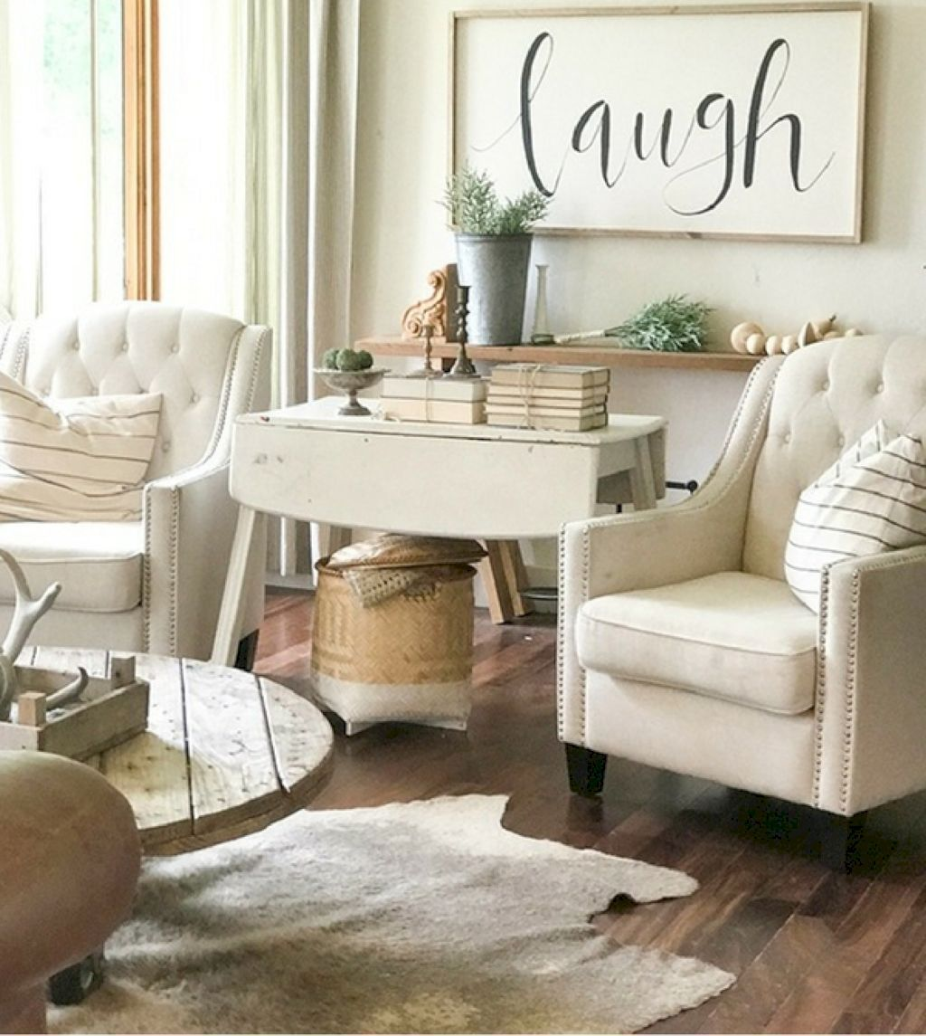 19 Gorgeous Rustic Farmhouse Living Room Decor And Design Ideas