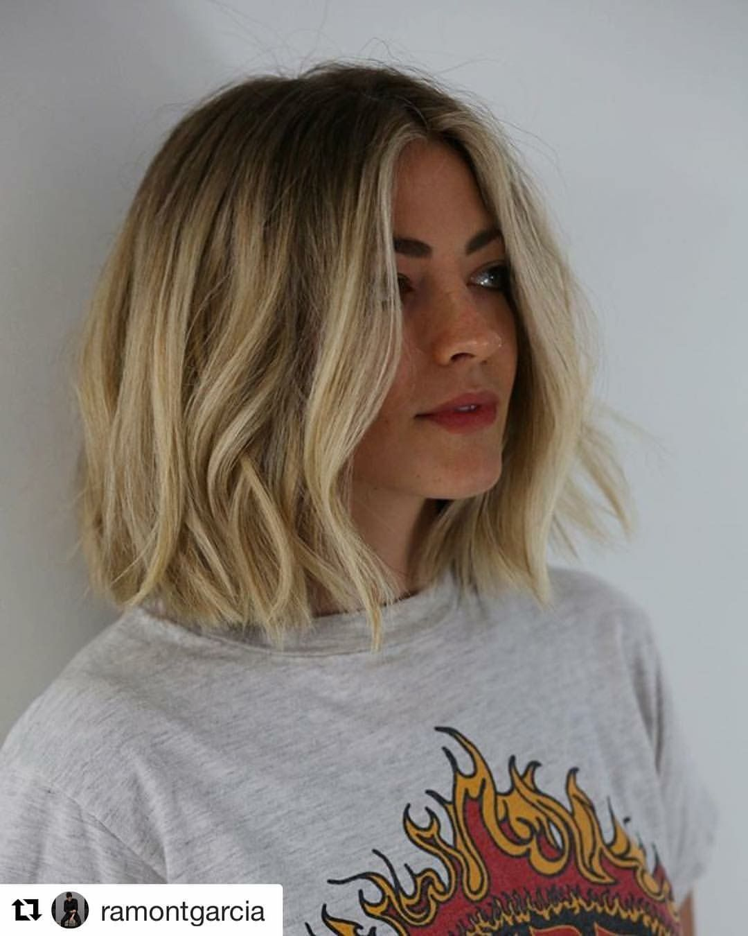 Pinterest @EmmCornett . . . . . . . .   Hair styles, Short hair styles,  Thick hair styles