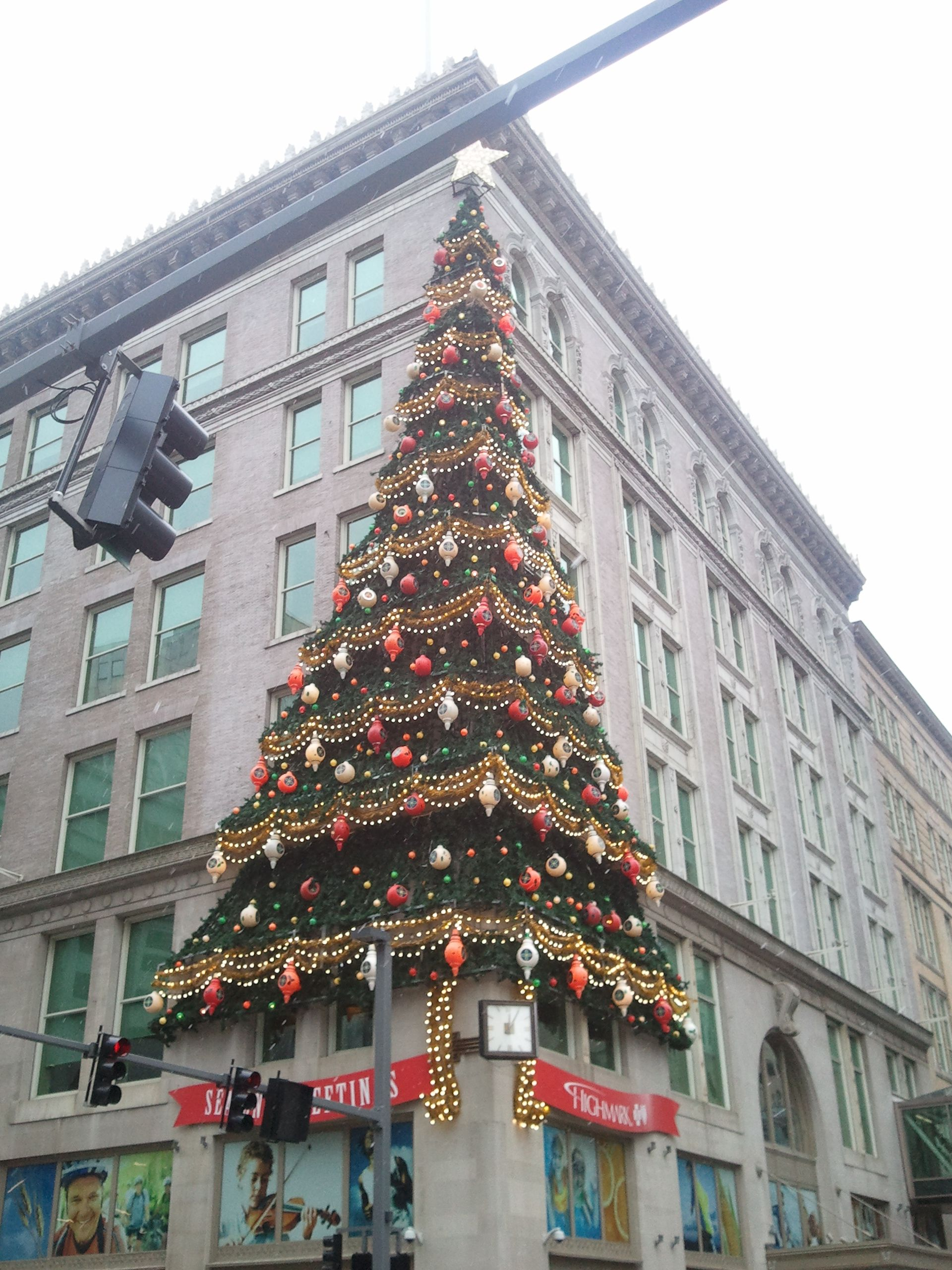 Joseph Horne and Company Christmas Tree...a Pittsburgh
