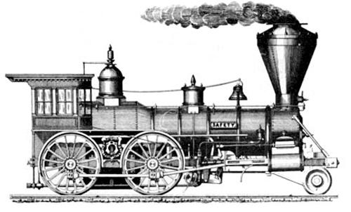 Do It 101 Locomotives Free Clipart Train Drawing Locomotive Clip Art Vintage