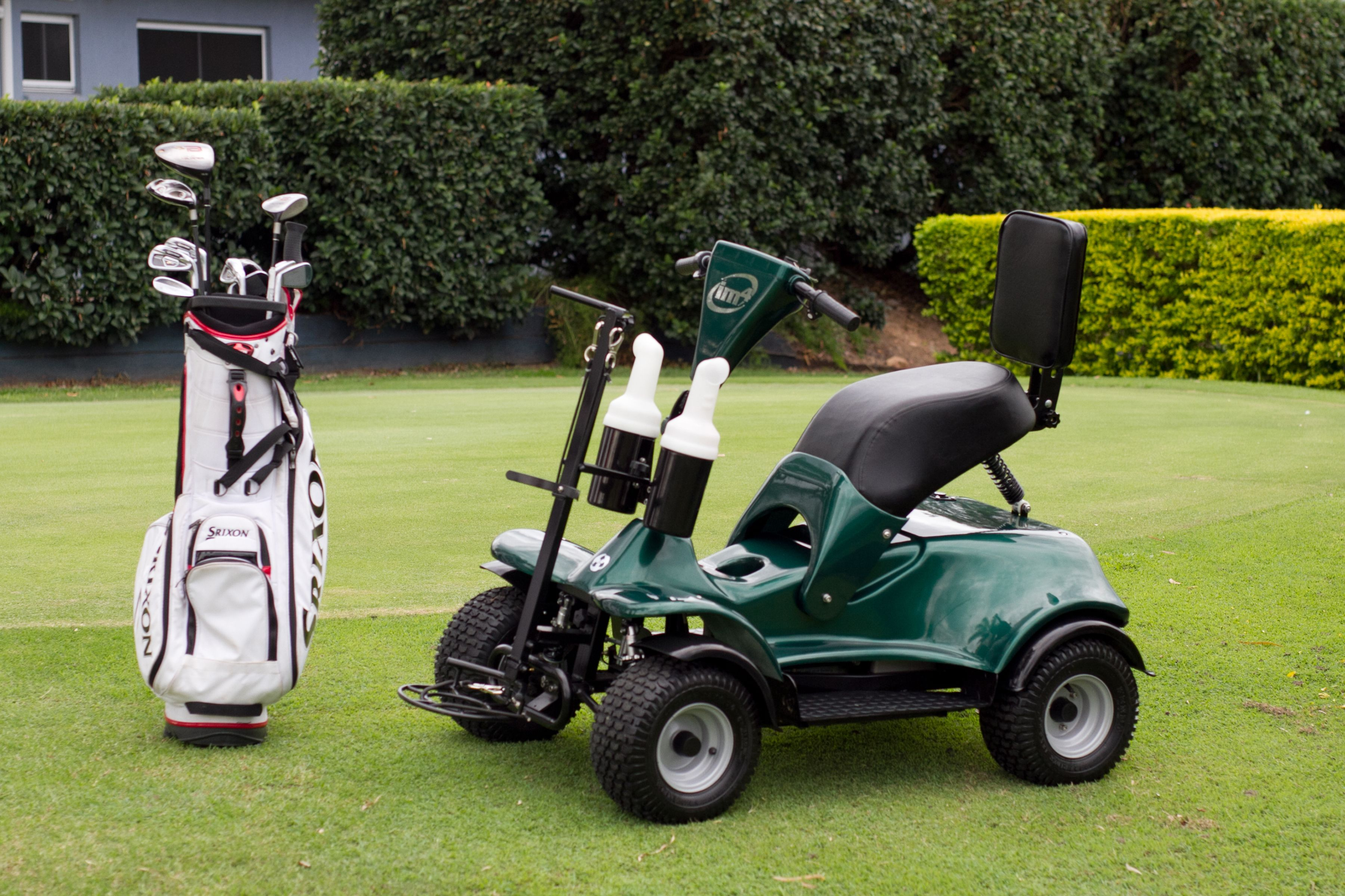 There Are Many Features Of The Im4 Electric Single Seater Golf Cart For Sale That People Love Electric Scooter For Kids Golf Carts For Sale Scooters For Sale