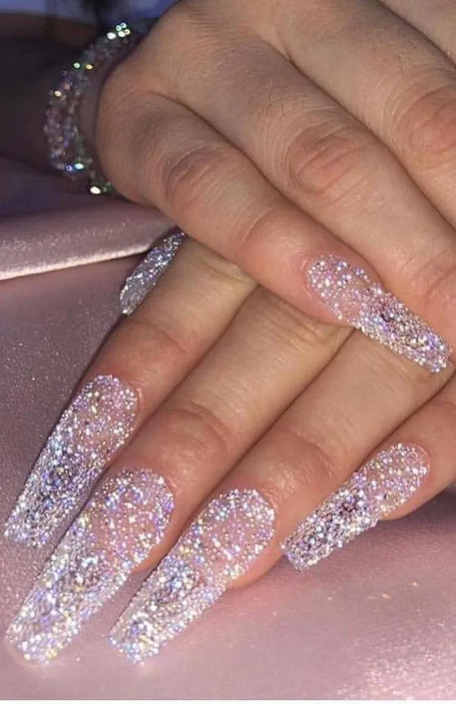 129 Sleek And Stylish Acrylic Nails Design Ideas For You This Year In 2020 Coffin Nails Designs Winter Nails Acrylic Cute Acrylic Nails