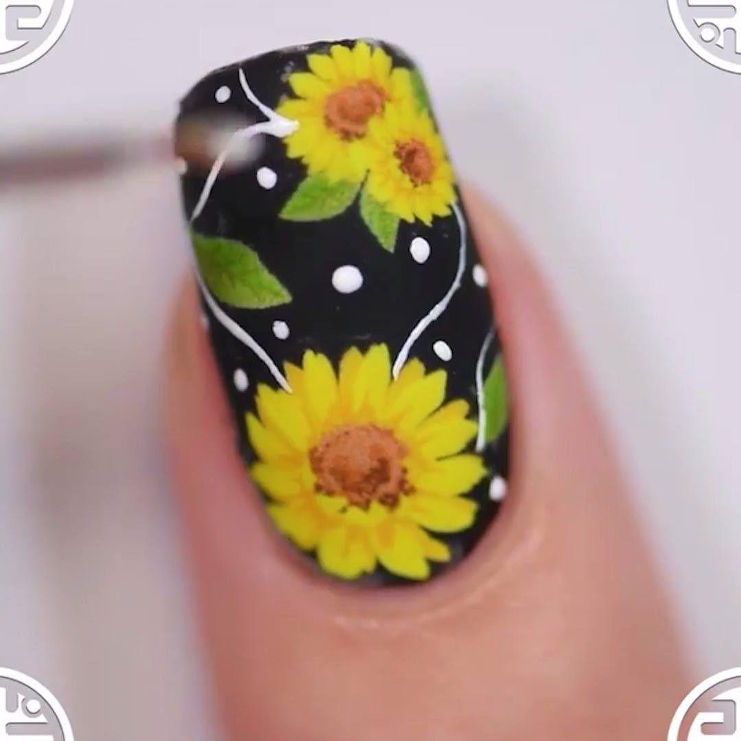 Top 15 Easy To Do At Home Nail Art Designs For Beginners Video Video Cool Nail Art Hair And Nails Nail Art Hacks