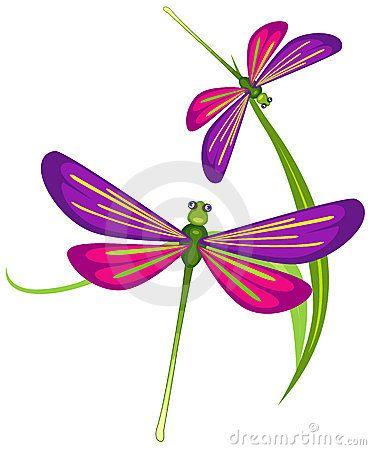 Dragonfly Flying Clip Art