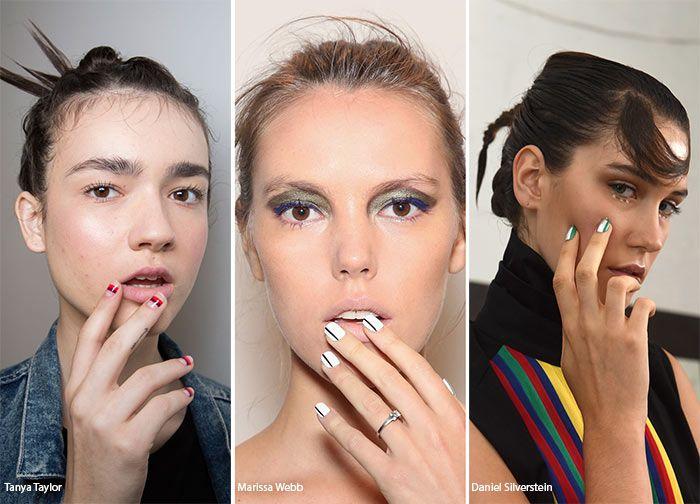 Spring/ Summer 2016 Nail Trends | Nail trends, Art nails and Make up